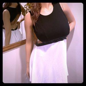 White&Black Cut our Dress by Dainty Hooligan